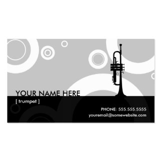 trumpet rings Double-Sided standard business cards (Pack of 100)