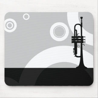 trumpet rings mouse pad