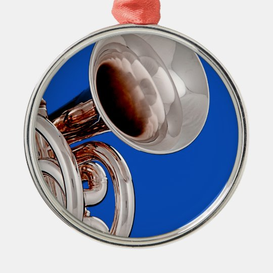 Trumpet Round Ornament