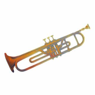 Trumpet Sculpture Photo Cutout