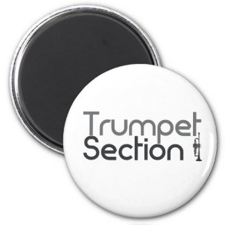 Trumpet Section 2 Inch Round Magnet