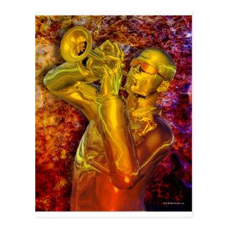 Trumpet Solo Postcard