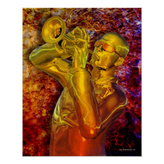 Trumpet Solo Poster