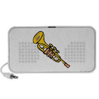 Trumpet Notebook Speaker