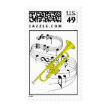 Trumpet Stamp