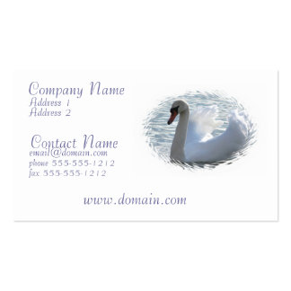 Trumpet Swan Business Card