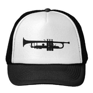 trumpet trucker hat