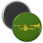 trumpet trumpet fridge magnet