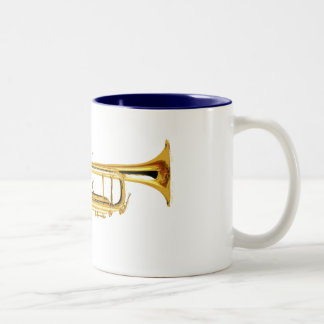Trumpet Two-Tone Coffee Mug