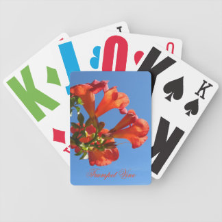 Trumpet Vine Playing Cards