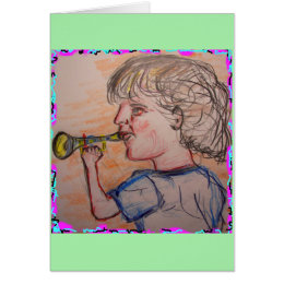 trumpet virtuoso make some noise card