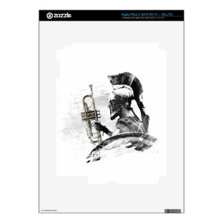 Trumpet Warrior Skins For iPad 3