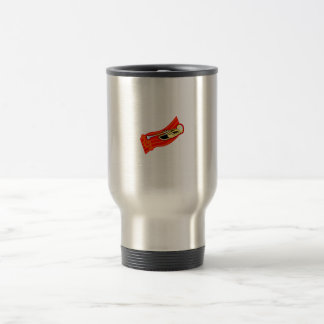 Trumpet With Treble Clef Yellow Red Graphic Coffee Mugs