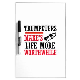 Trumpete design Dry-Erase whiteboards