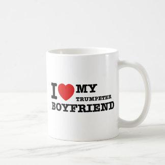 Trumpeter Boyfriend Designs Coffee Mug