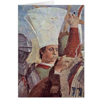 Trumpeter By Piero Della Francesca Greeting Card
