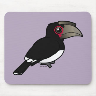 Trumpeter Hornbill Mouse Pad