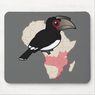Trumpeter Hornbill Range Mouse Pad