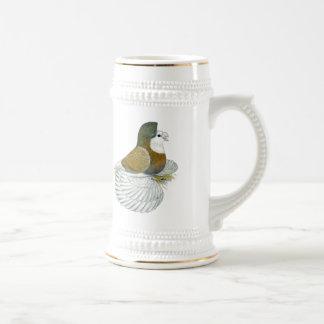 Trumpeter Pigeon AOC Baldhead Beer Stein
