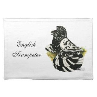 Trumpeter Pigeon Dark Splash Cloth Placemat