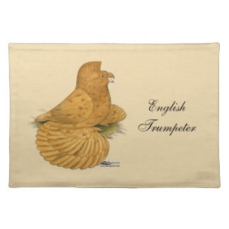 Trumpeter Pigeon Deroy Cloth Placemat