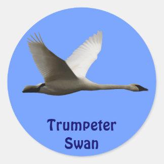 Trumpeter Swan Birdlover's Wildlife Sticker