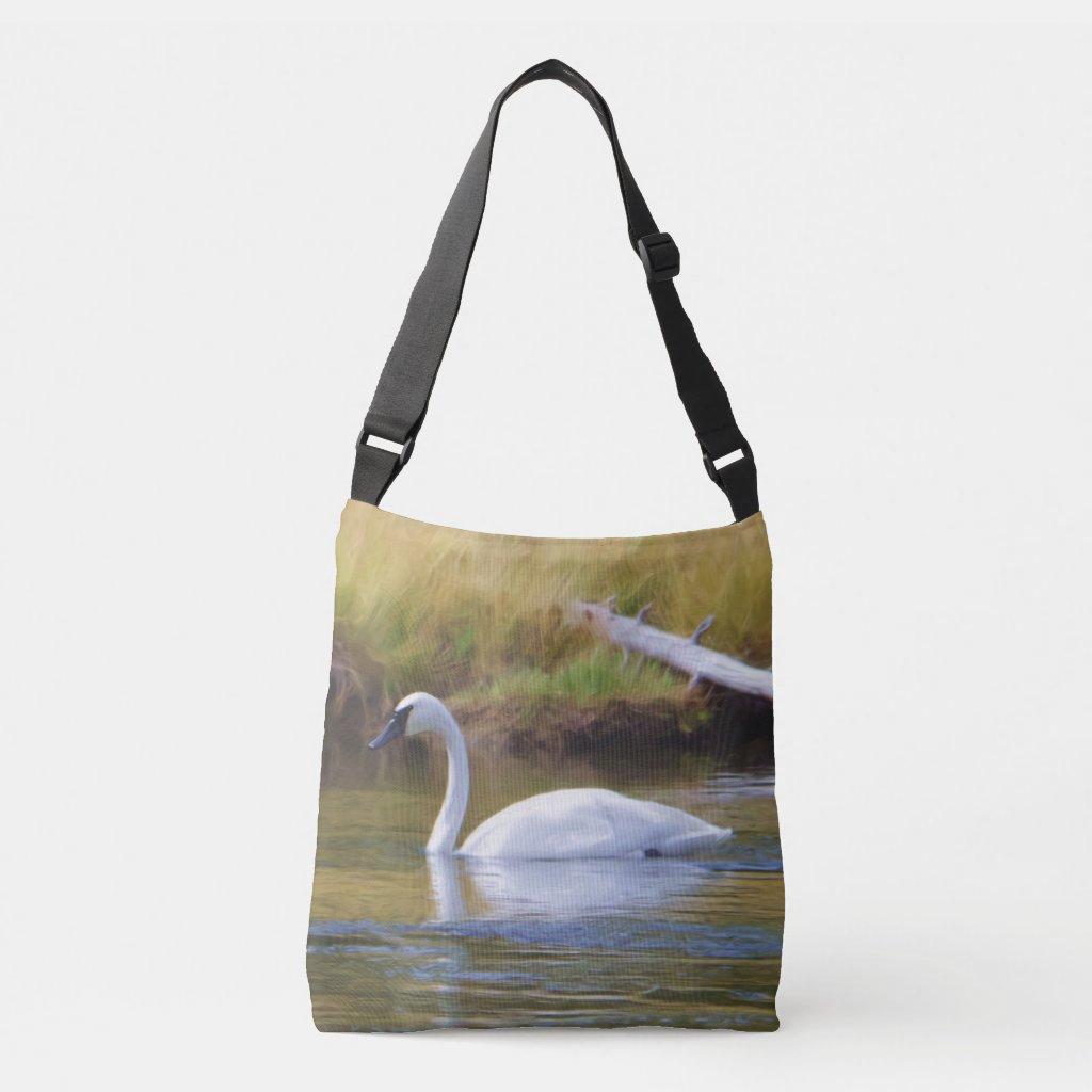 Trumpeter Swan Crossbody Bag