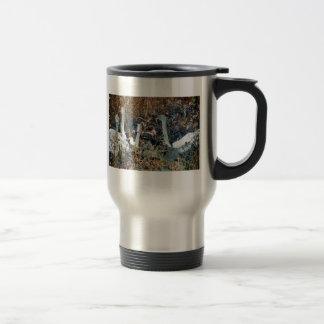 Trumpeter Swan Cygnets 15 Oz Stainless Steel Travel Mug