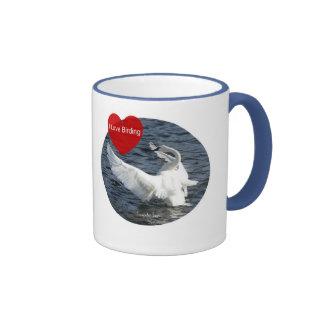 Trumpeter Swan - I Love Birding Cup
