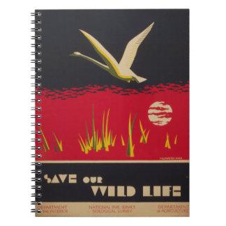 Trumpeter Swan Notebook