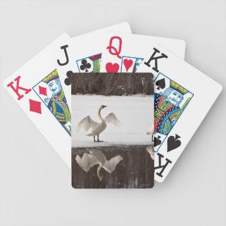 Trumpeter Swan Pairs Deck Of Cards
