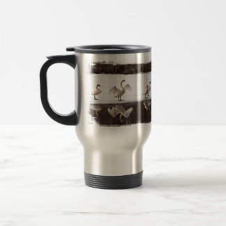 Trumpeter Swan Pairs Travel Mug