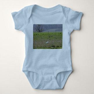Trumpeter Swan San Juan Island Birthday|Sympathy T Shirt