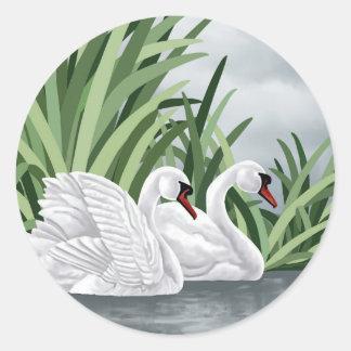 Trumpeter Swan Stickers