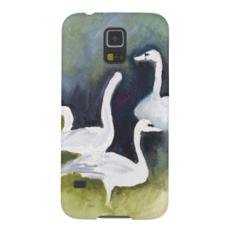 Trumpeter Swans in Skagit Valley Case For Galaxy S5