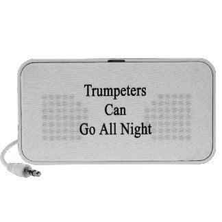 Trumpeters Can Go All Night Travel Speaker