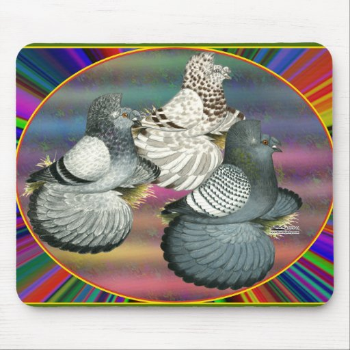 Trumpeters Three Mouse Pad