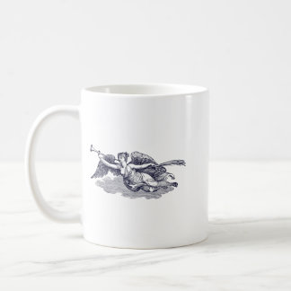 Trumpeting Angel Coffee Mug