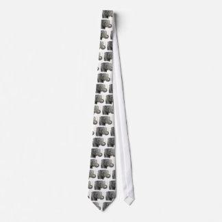 Trumpeting Elephant Necktie
