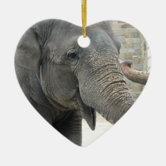 Trumpeting Elephant Ornament