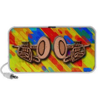 Trumpets Abstract Mini Speaker