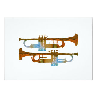 Trumpets Card