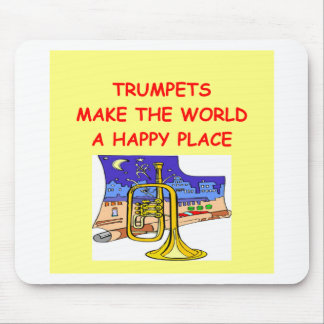 trumpets mouse pad