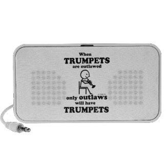 Trumpets Outlawed PC Speakers