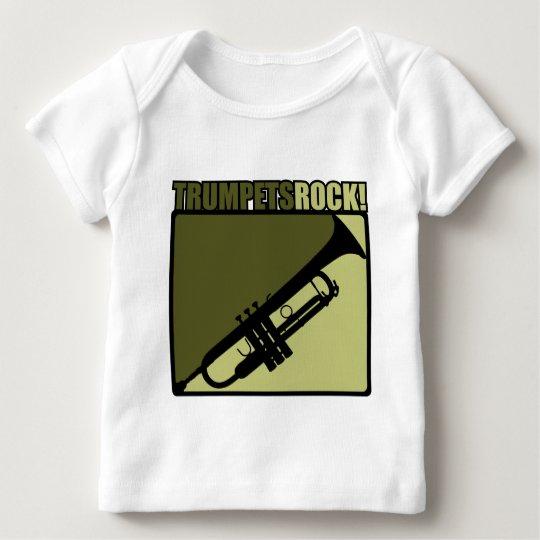 Trumpets Rock! Baby T-Shirt