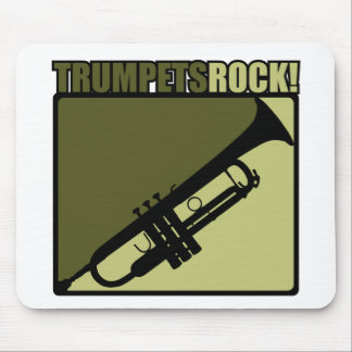 Trumpets Rock Mouse Pad