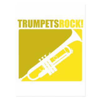 Trumpets Rock! Postcard