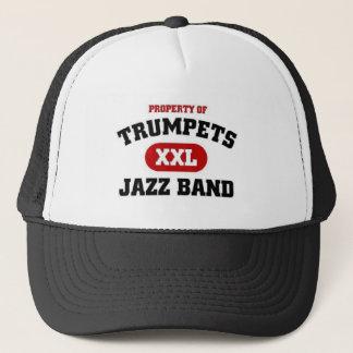 Trumpets XXL Jazz Band Trucker Hat