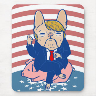 Trumping the Hog Mouse Pad