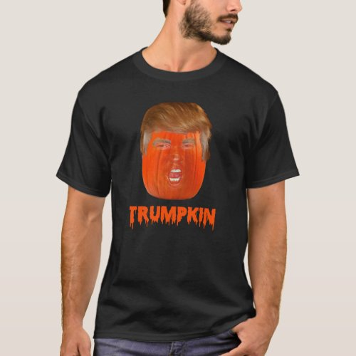 Trumpkin Donald Trump Halloween T_shirt
